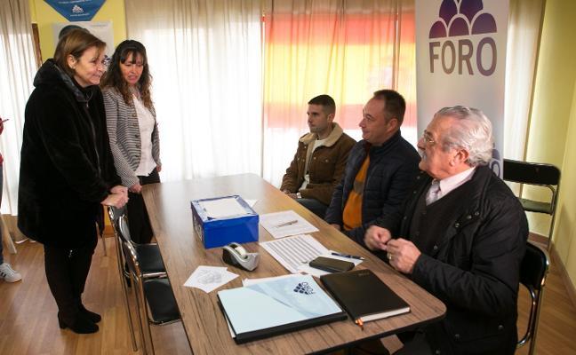 María José Rey repitirá como candidata electoral de Foro en Nava