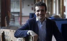 Pablo Casado: «¿Pacto con Foro? Lo que veo con malos ojos es que en Asturias gobiernen los izquierdistas»