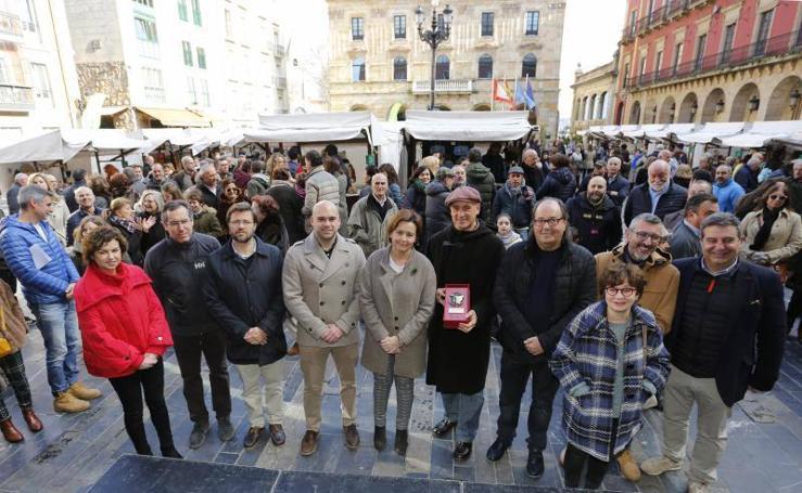Un domingo por el Mercado Ecológico Artesano y Ecológico de Gijón