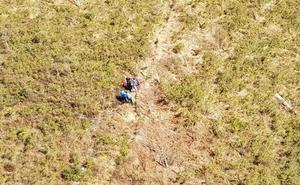 Rescatan a una excursionista que realizaba una ruta en Cangas de Onís