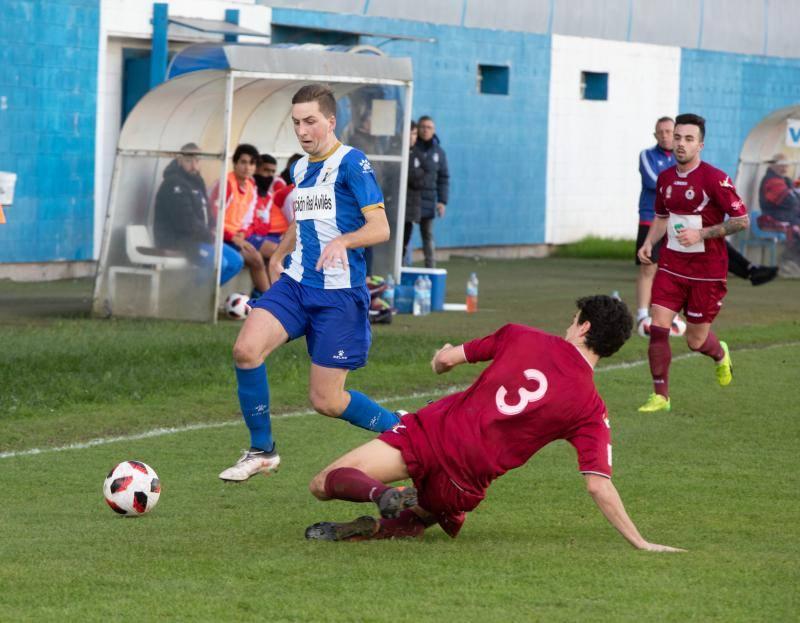 Real Avilés 0-3 Gijón Induistrial, en imágenes