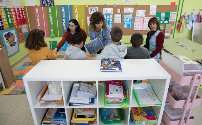 Inclusión plena en el colegio de El Vallín de Castrillón