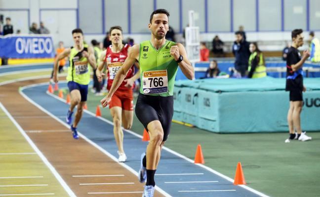 El Universidad y el Gijón Atletismo se llevan el regional por clubes indoor