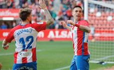 El Sporting suma tres puntos en El Molinón (2 - 0)