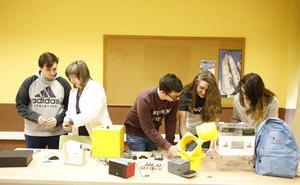 Ingenio en las aulas del instituto de Langreo