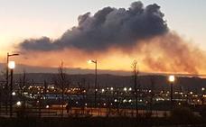 Una nueva «nube contaminante» desata la alarma en Gijón