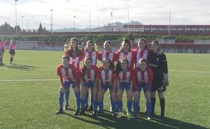 El Sporting estrena el 2019 goleando al CD Oceja