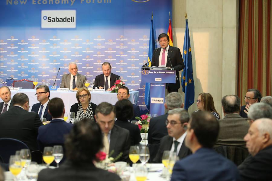 Javier Fernández defiende la creación de un arancel ambiental para proteger a las empresas europeas