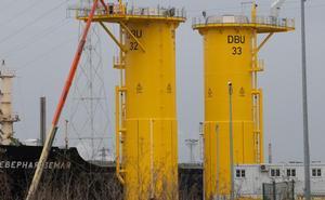 Windar e Idesa entregan las dos últimas torres para el parque eólico marino Debu