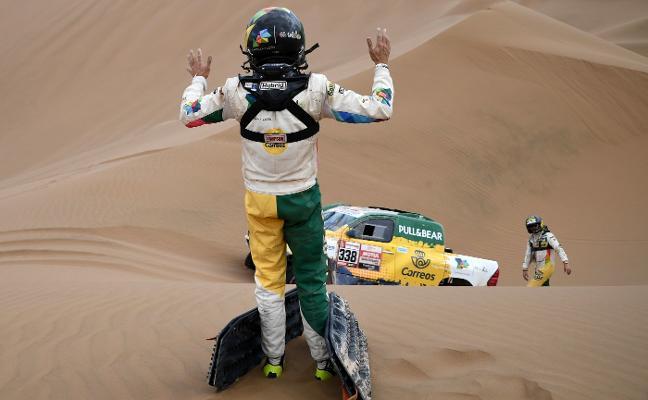 Calleja abandona el Dakar
