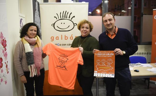 16 concejos correrán a favor de la asociación Galbán de cáncer infantil