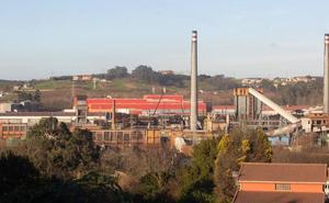 Las baterías de cok de Avilés recuperan toda su producción tres meses después del incendio