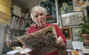 Fallece el dibujante de cómic asturiano Isaac del Rivero