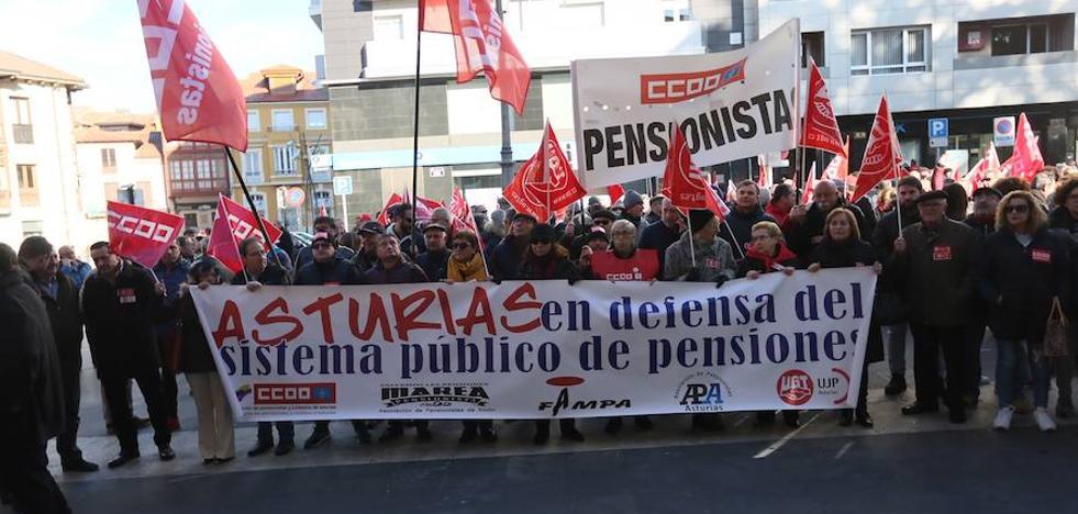 Losa destaca que más de 275.000 asturianos se beneficiarán de la subida de las pensiones