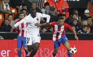 Vídeo: resumen y goles del Valencia - Sporting de octavos de Copa del Rey