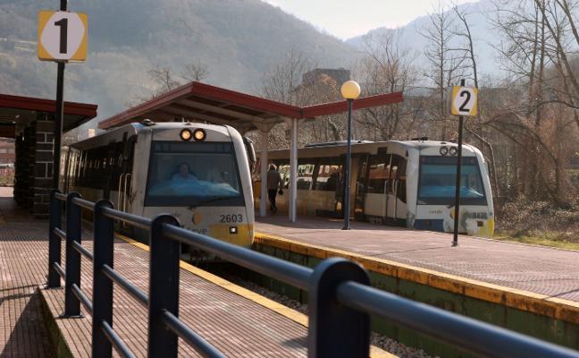 Nueva avería en el servicio de tren entre Baíña y Collanzo