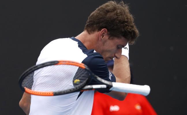 Pablo Carreño saca su tenis a tiempo
