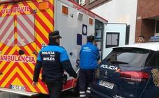 Fallece un hombre en su vivienda de la avenida de Cervantes de Avilés
