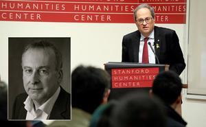 El cónsul gijonés Diego Muñiz, «ejemplo de cómo responder a las falsedades de Quim Torra»