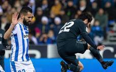 Marcelo va de adelante a atrás e Isco juega poco más de una hora