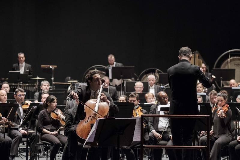 Concierto de la Orquesta Sinfónica del Principado de Asturias en el Teatro Jovellanos