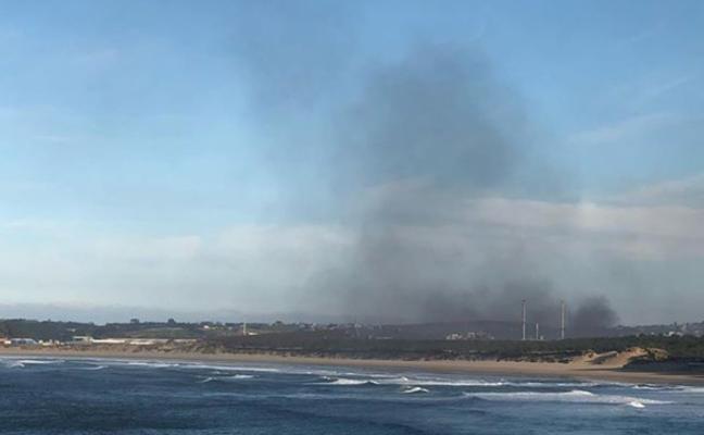 Los ecologistas denuncian una «gran nube contaminante» sobre Salinas