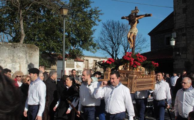 Luanco luchará para que el Cristo del Socorro sea fiesta de Interés Turístico Regional