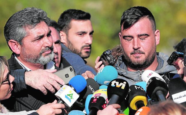 El padre de Julen, el niño que cayó a un pozo en Málaga: «Me da fuerzas saber que voy a ver a mi hijo con vida»