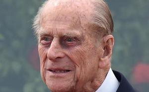 El duque de Edimburgo sufre un accidente de tráfico