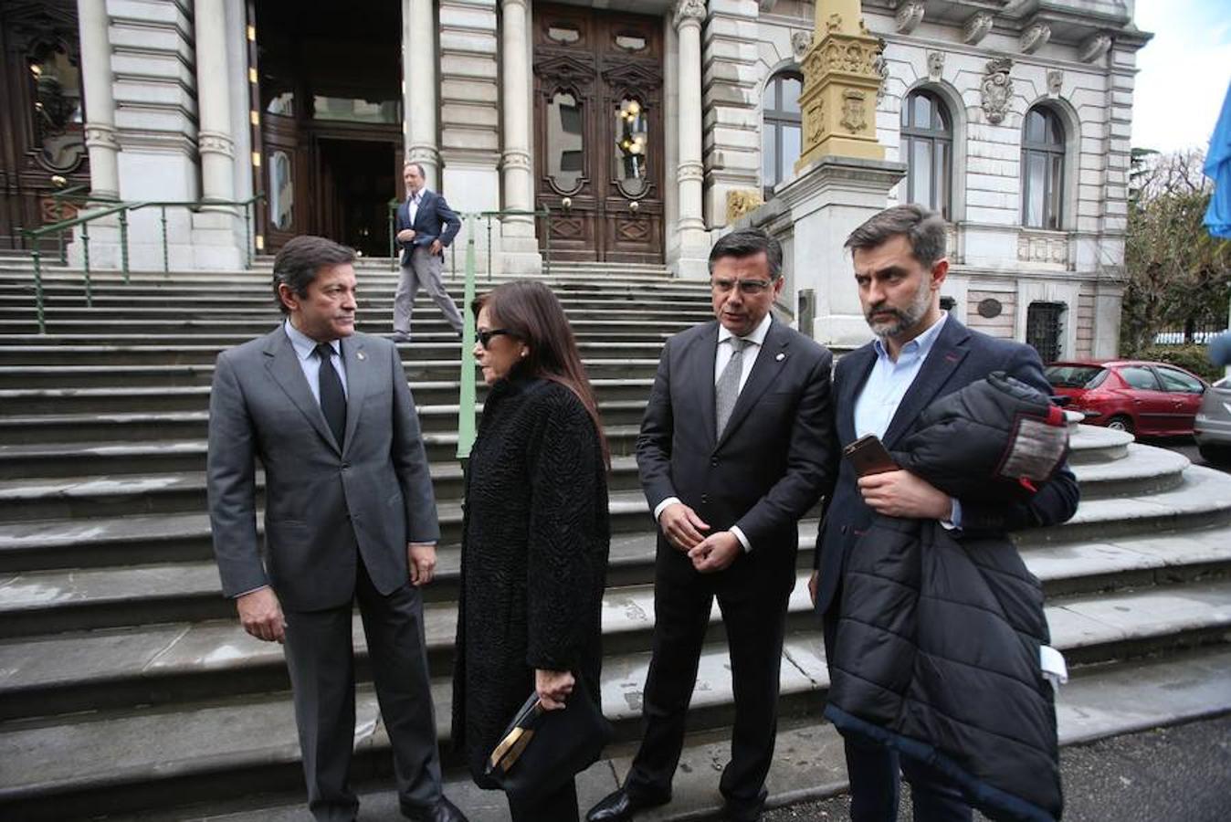 Despedida de Vicente Álvarez Areces en la Junta del Principado