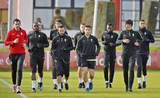 Entrenamiento del Sporting (17-01-2019)