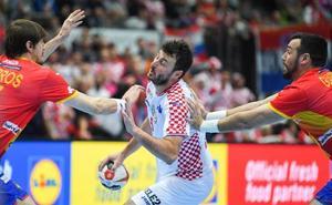 España se atasca ante Croacia