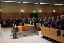 Último adiós al abogado gijonés Francisco Pérez Quirós