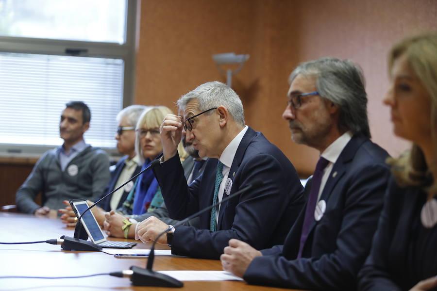 El rector apunta a la investigación como motor de recuperación empresarial en la región
