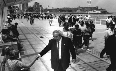 Vicente Álvarez Areces, el alcalde que modernizó Gijón