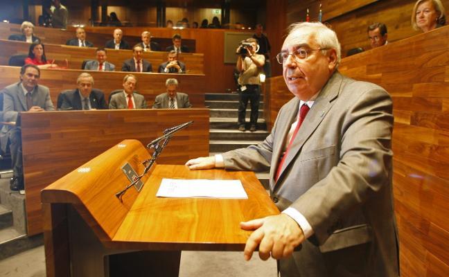 Vicente Álvarez Areces, el orador infatigable que no pensaba jubilarse nunca