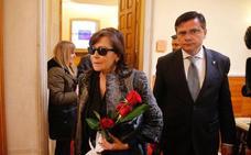 Soledad Saavedra agradece la «despedida por la puerta grande» que le está brindando Asturias