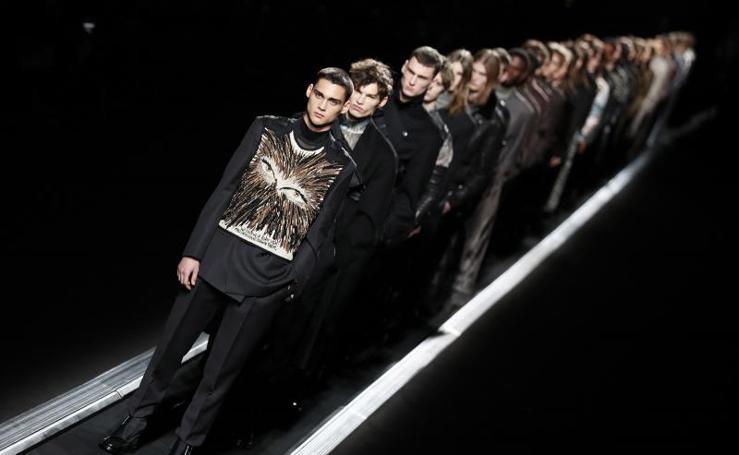 El futuro es tendencia en la Semana de la Moda Masculina de París