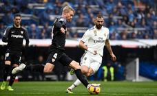 Las mejores imágenes del Real Madrid-Sevilla