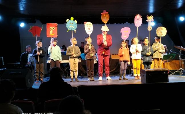 El grupo de animación musical GAME actuó en el García Lorca