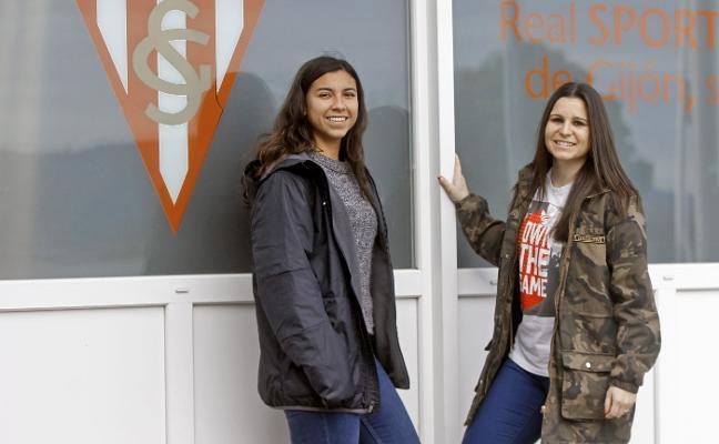 Annia Mejía y Lorena de Castro fichan por el Sporting Femenino