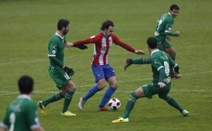 El Sporting B se queda a medias (2-2)