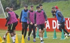 Entrenamiento del Sporting (19-1-19)