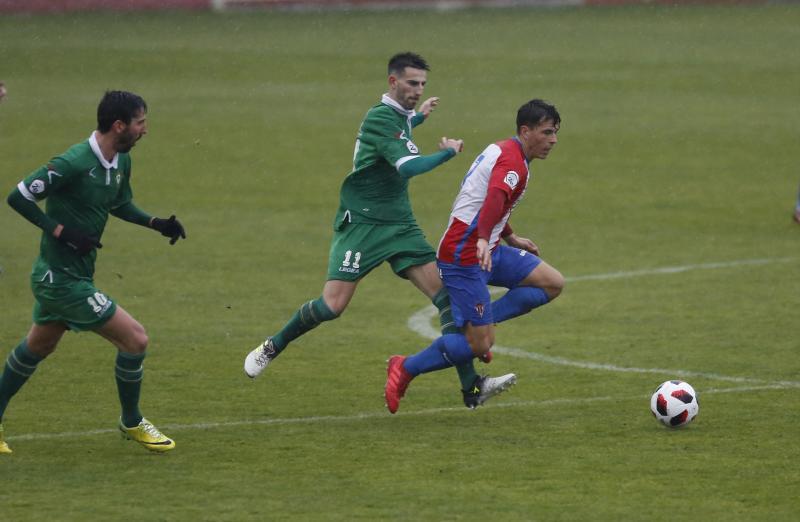 Sporting B 2 - 2 Gernika, en imágenes