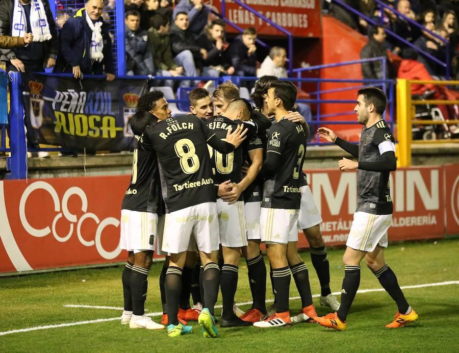 El Real Oviedo vence al Extremadura y suma tres victorias consecutivas (0 - 2)