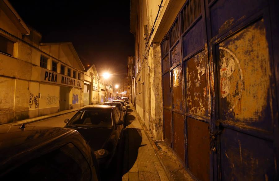 Los pasajes 'del miedo' de Oviedo