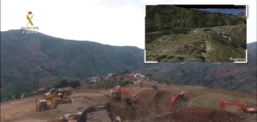 La vertiginosa transformación del Cerro de la Corona para llegar hasta Julen