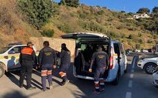 La Brigada Minera de Asturias en Totalán sigue «con la ilusión de poder sacar con vida a Julen»