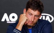 Carreño se disculpa: «Es difícil explicar la frustración que sientes después de luchar durante cinco horas»