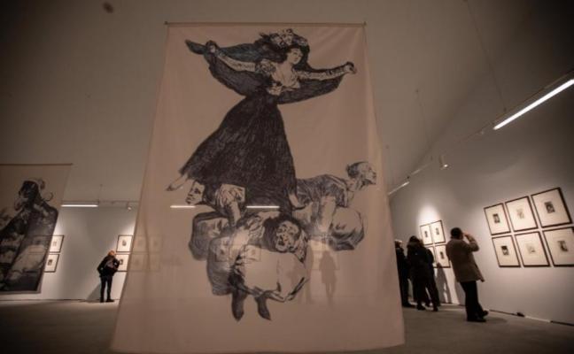 Medio millar de personas han visitado ya la muestra de Goya en el Valey